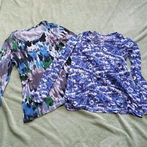 Bundle of two long sleeve tees